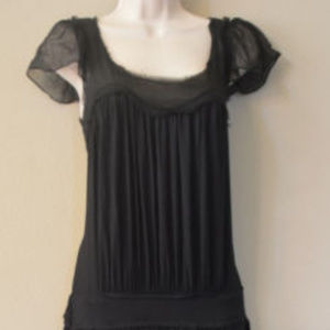 BCBG MAXAZRIA Jersey Knit Dress Black SIZE XS #410 Dresses - BCBG MAXAZRIA Jersey Knit Dress Black SIZE XS #410